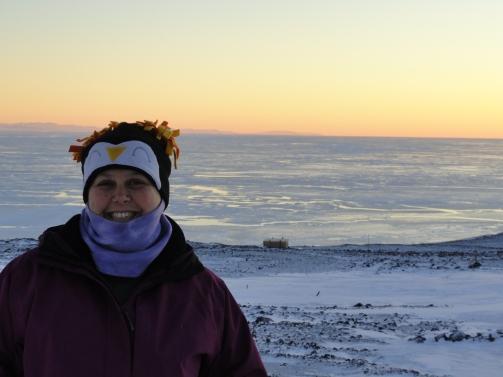 Antarctica Sunset