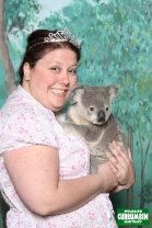 I like to accessorize with tiaras and Koalas
