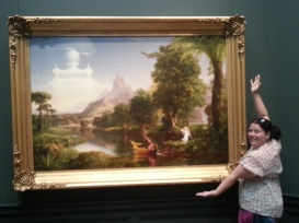 My painting by American painter, Thomas Cole