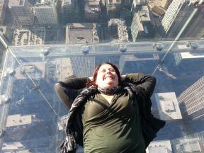 Willis Tower Glass Balcony, Chicago, USA