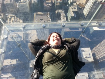 Willis Tower Glass Balcony, Chicago, USA