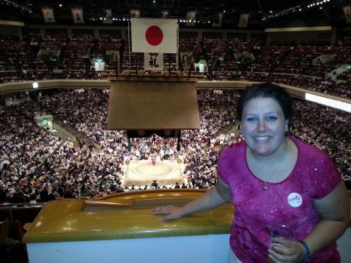 Sumo Tournament, Tokyo, Japan