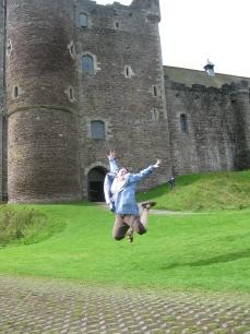 Castle in Scotland, UK