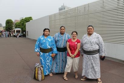 Sumo Wrestlers, Tokyo, Japan